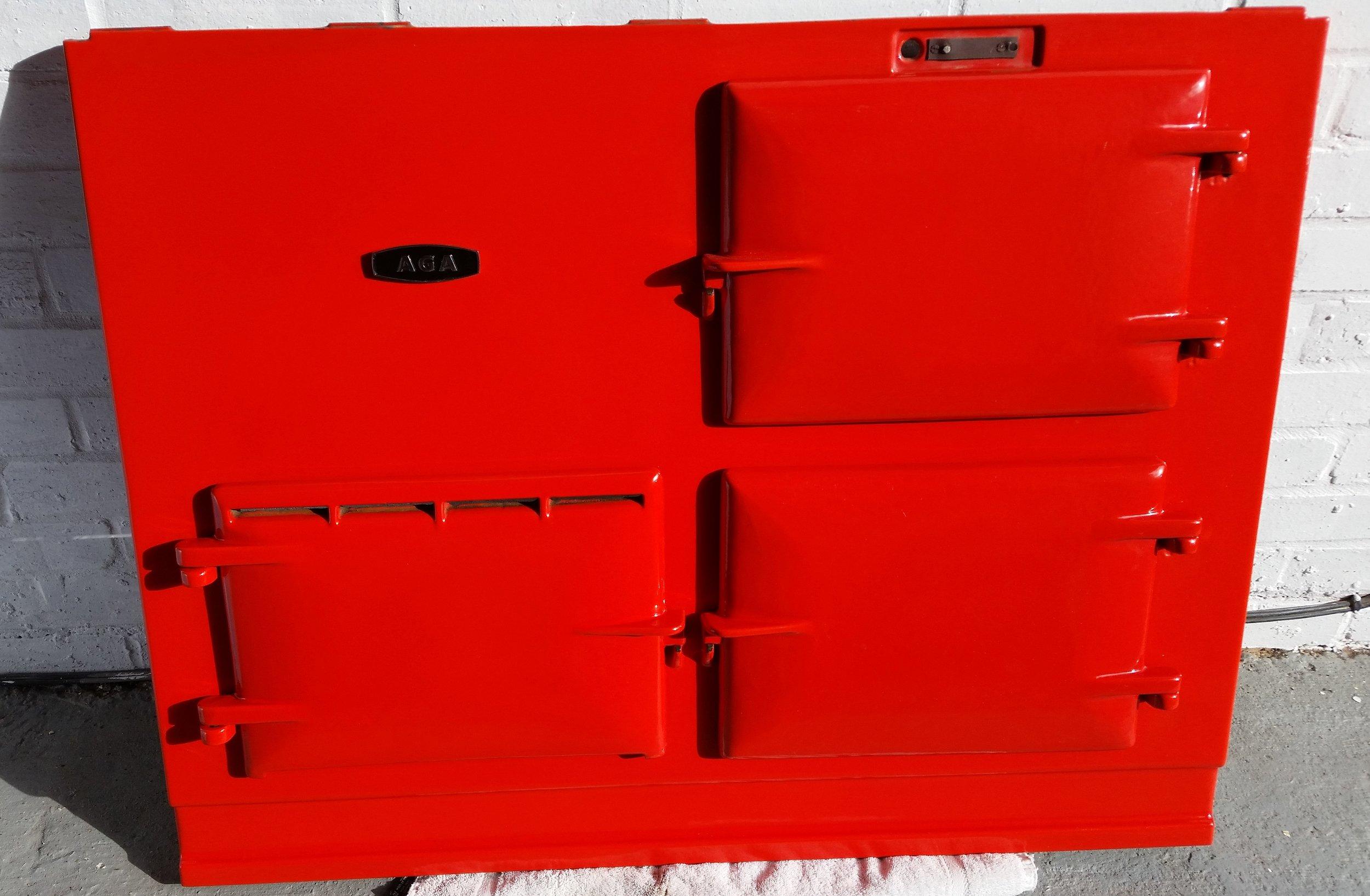 2 oven red Post 74 - Very bright red - good condition£3800