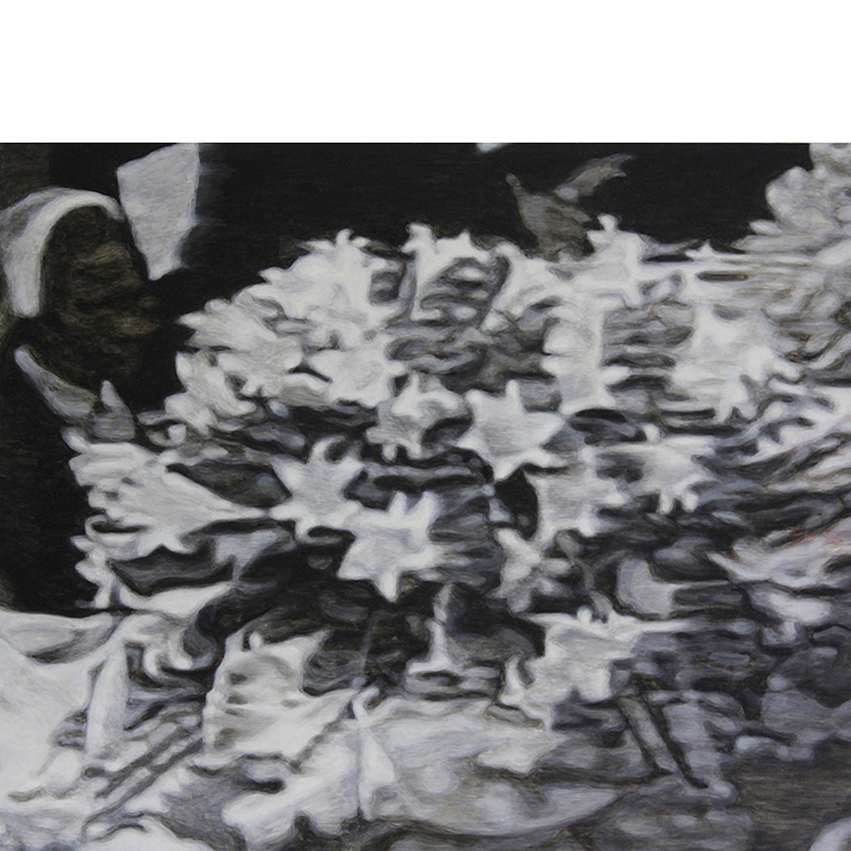 Szelit_The detail of news photo from Diana's funeral (painting)_1_square.jpg