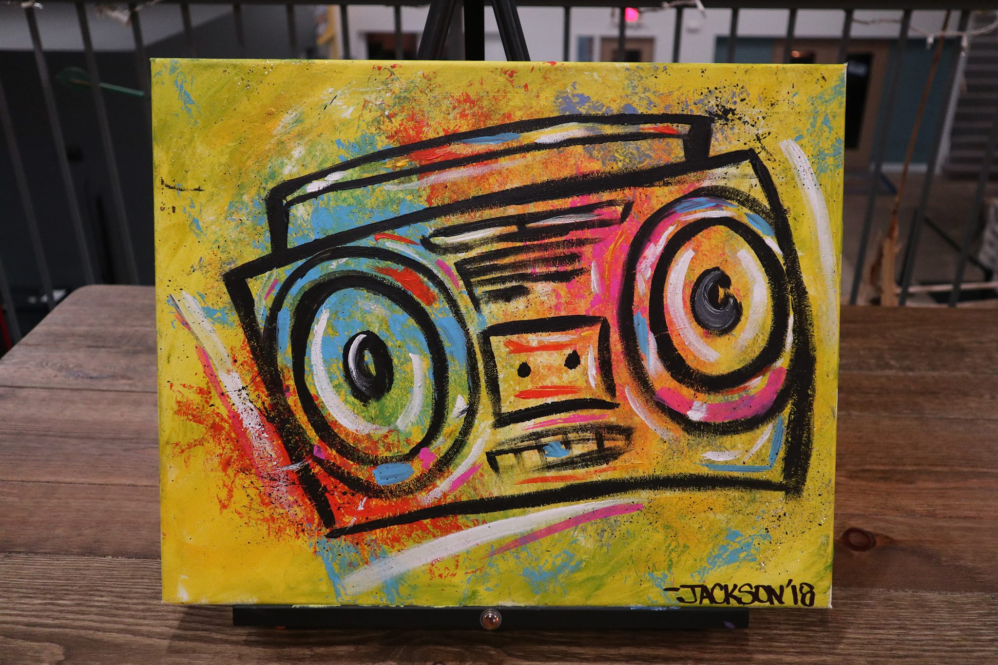 Boombox - Jackson