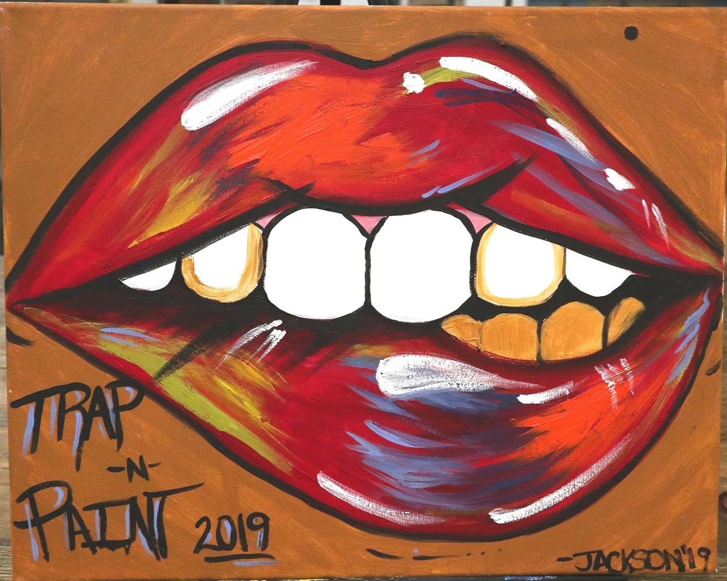 Lip Bite - Jackson