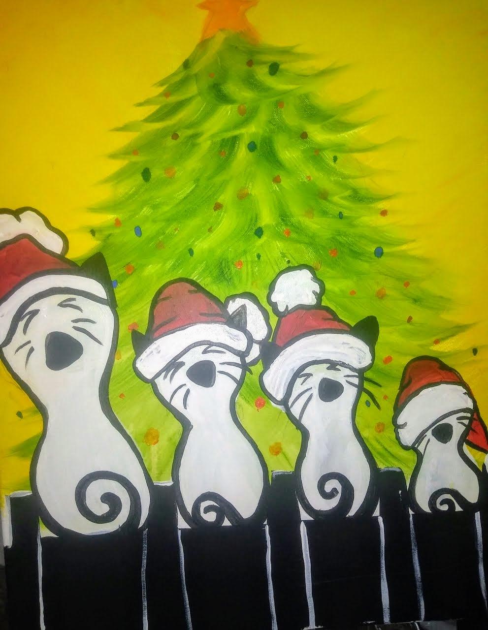 Caroling Cats - Jackson