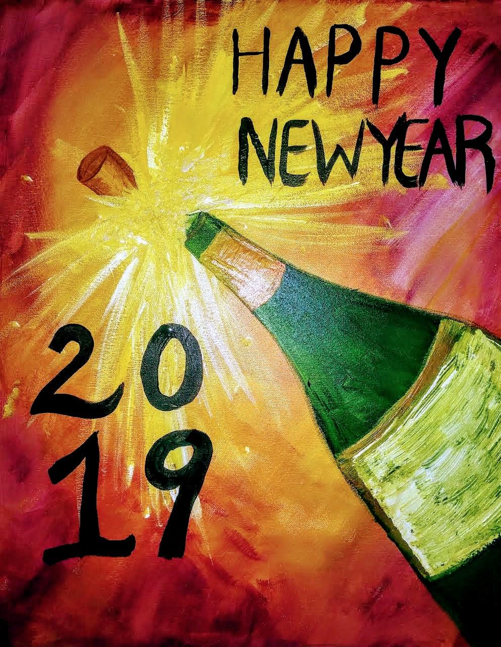 Happy New Year 2019 - Jackson