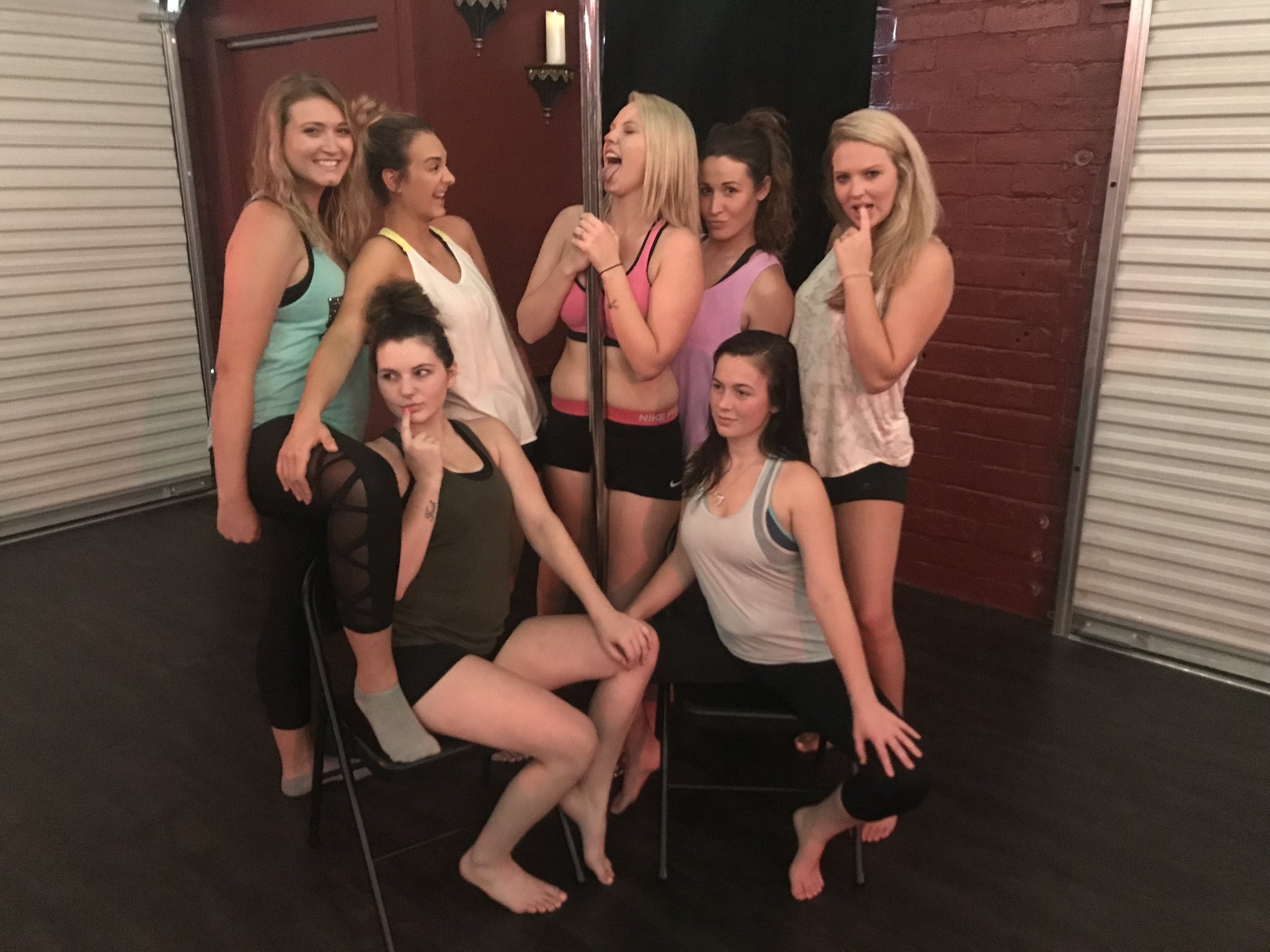 """The Lioness"" Bachelorette Pole Dance Party!"