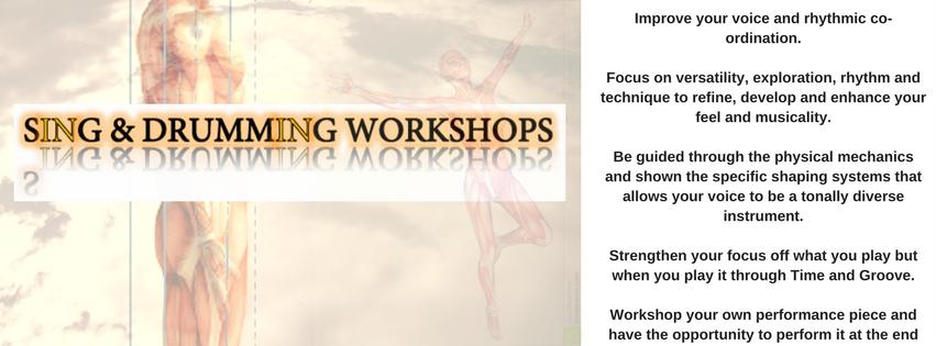 SING & DRUMMING WORKSHOPS - Coming Soon