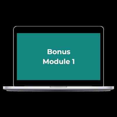 MMM Bonus Module 1