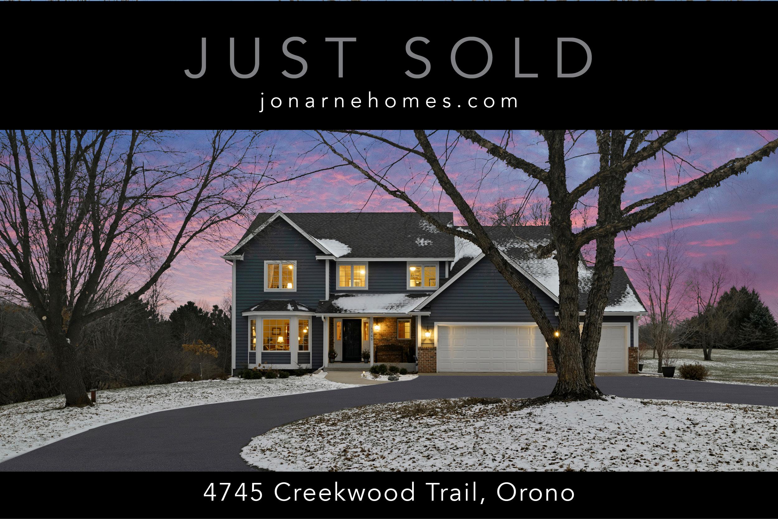 4745 Creekwood Trail, Orono