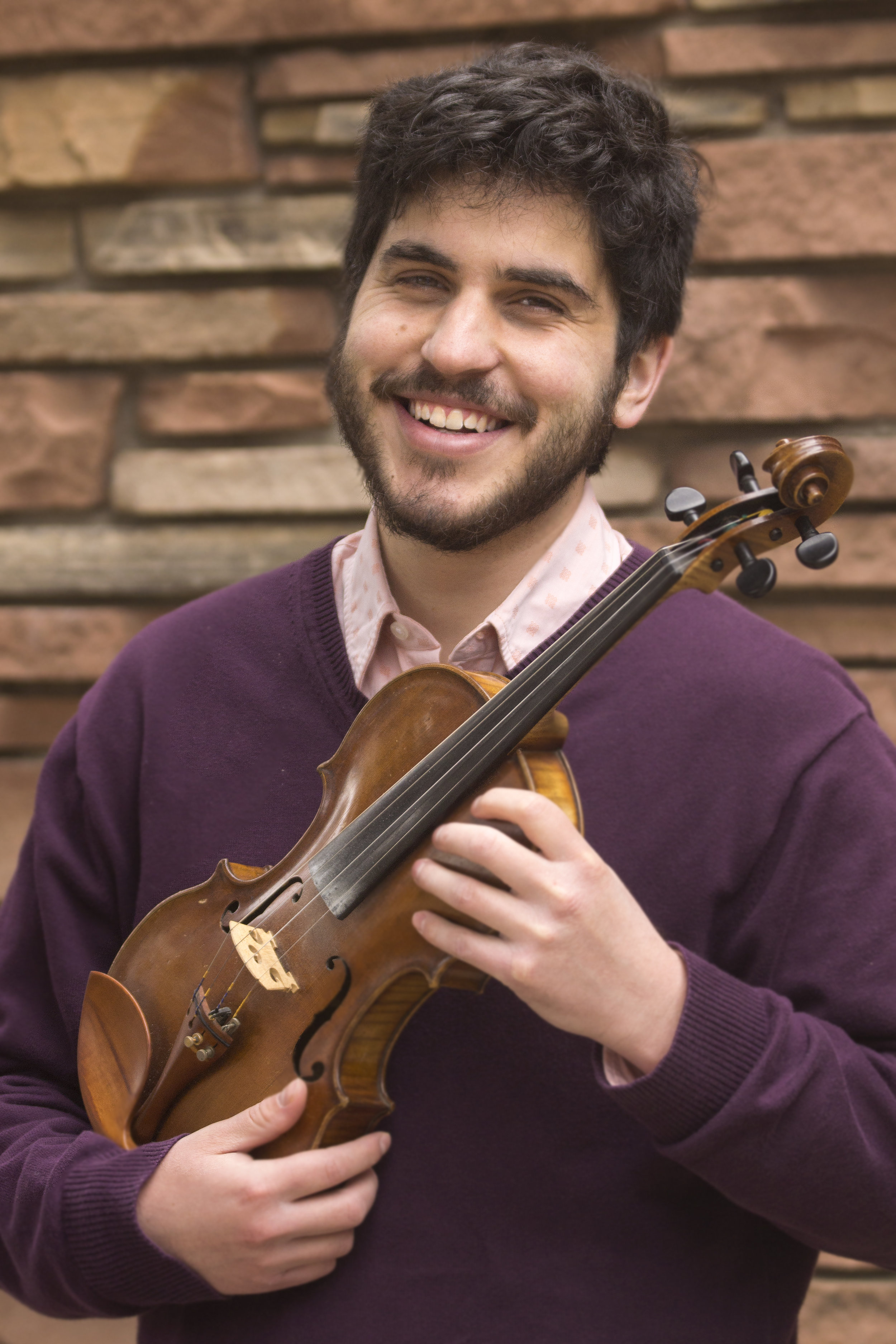 "Eitan Kantor - Eitan Bernard Kantor is a singer, songleader and violinist based in Boulder, Colorado. He sings and fiddles with the klezmer fusion band, Hadgaba, with whom he recently recorded the album, ""E.P. (Ershter Prubirn)."" Eitan serves as a High Holidays cantorial soloist at Penn Hillel and is the music director of the davening band at Congregation Bonai Shalom in Boulder. Through the creation of both religious and secular Jewish music, Eitan hopes to inspire social action rooted in Jewish values."
