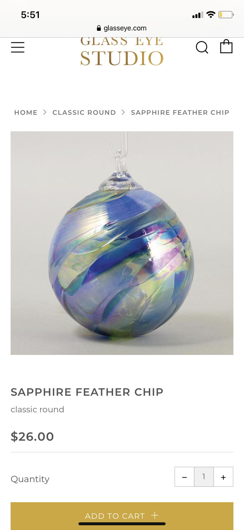 Ornaments Art Glassworks