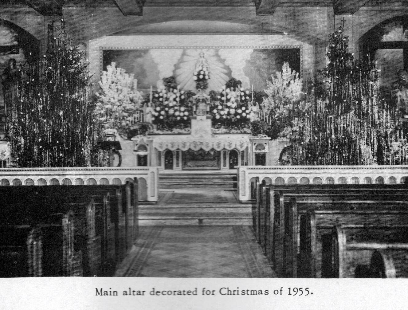 chuch interior at xmas 1955.jpg