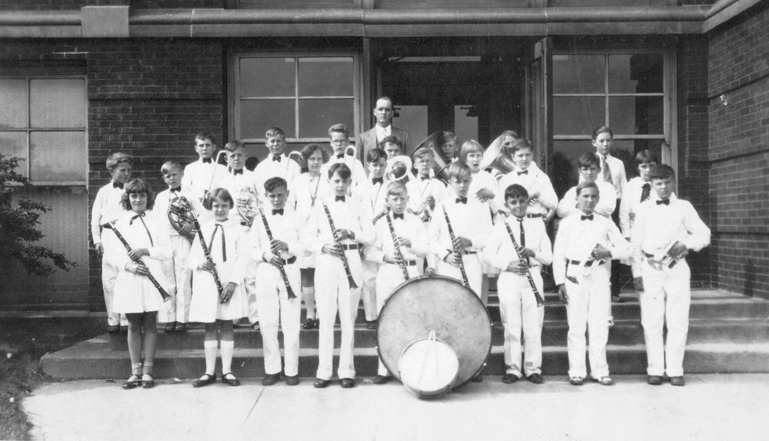 Franklin School music students in 1929.
