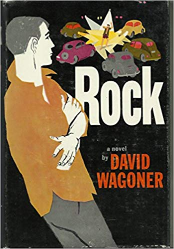 "Rock by David Wagoner (1958)   With this book Wagoner somehow seems to shift his focus from the plug-uglies of The Man in the Middle and Money, Money, Money to the generation Kerouac has named the """"beat generation"""". It is a grim picture of the teen age rock-and-roll gang, in the outskirts of South Chicago. Max Fallon, at loose ends after a divorce and loss of job and roots, comes home again, thinking to find himself. Instead, he is simply a symbol of an adult who harks back to youth- and a youth rejected by the others who push him back across the adult fringe. Whiting Park is featured prominently, among other Whiting locations."