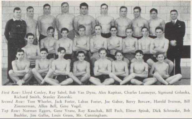 Wrestling Team - 1938
