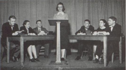 Debate Team - 1939