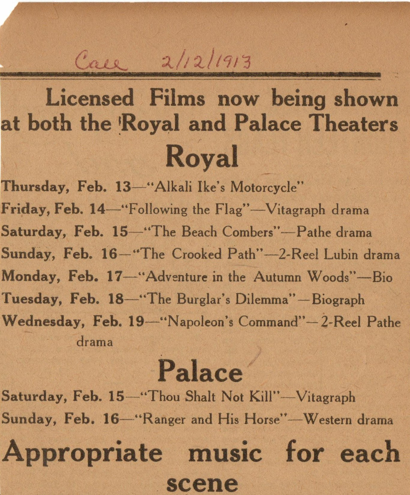 Royal and Palace listing 1913 1.jpg