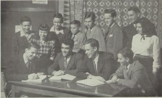 Debate Team - 1947