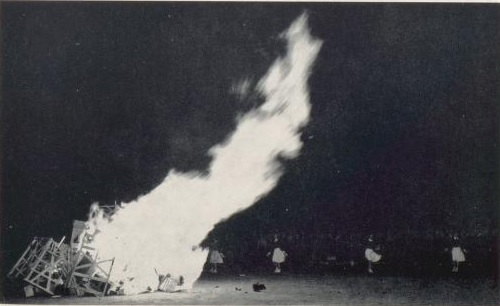 First Bonfire - 1953