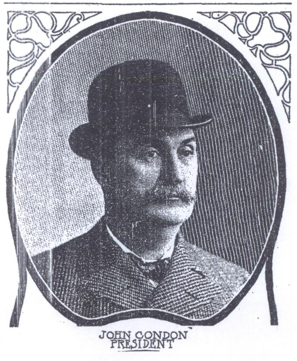 """""""Blind John"""" Condon, as he was known to friends and foes, was a native of Logansport, Indiana who was a major part of organized gambling in Chicago in the late 1800s and into the early 1900s. By establishing the first horse racing track in the Roby section of Hammond in 1892, he was also the first person to bring organized gambling to Northwest Indiana. He was called, """"Blind John,"""" because in the politically incorrect era of the late 1800s, that's how some referred to those, like Condon, who were losing their eyesight."""