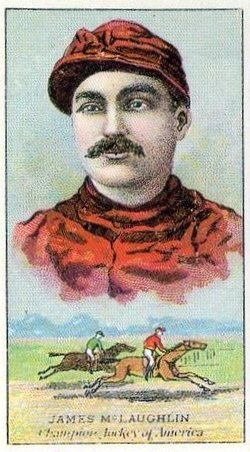 The horse races in Roby drew regular people, as well as celebrities of the era, both in the grandstand and on the track. James McLaughlin was one of the greatest jockeys of the 1880s, and a future hall-of-fame inductee. His most famous race may have been onboard Hindoo, a hall-of-fame horse, in the 1881 Kentucky Derby. McLaughlin was retired from riding by time the Roby track opened in 1892, but he served in the key role as the race starter in the first season at Roby.