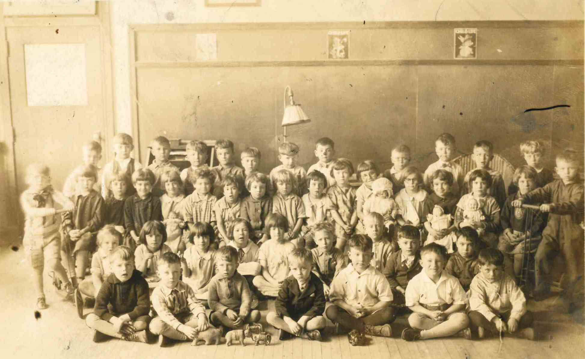 An Early Kindergarten Class