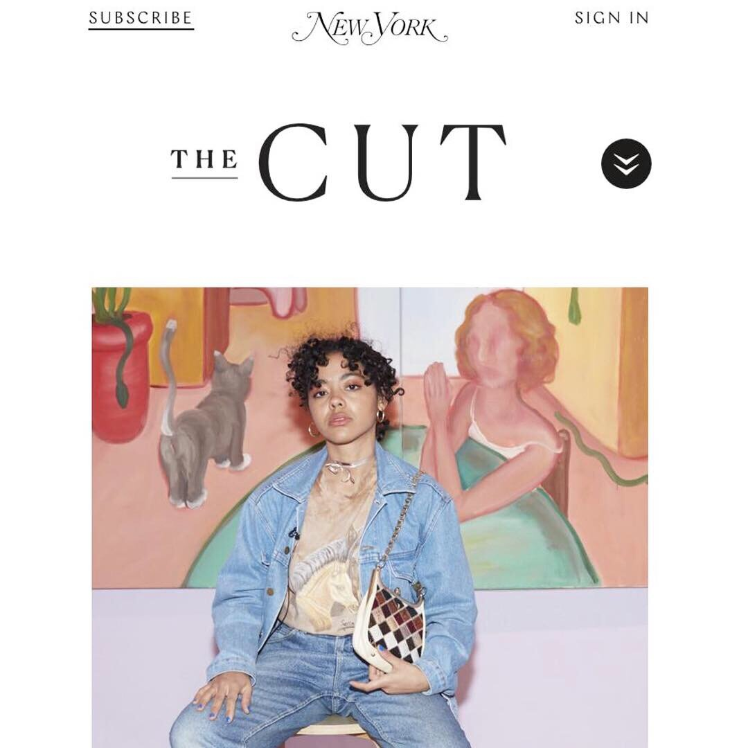 Simon Was featured in New York Magazine's coverage of the Spring 2019 Affordable Art Fair in Chelsea, Manhattan