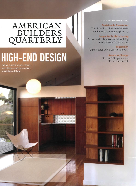 - American Builders Quarterly Magazine (2010)