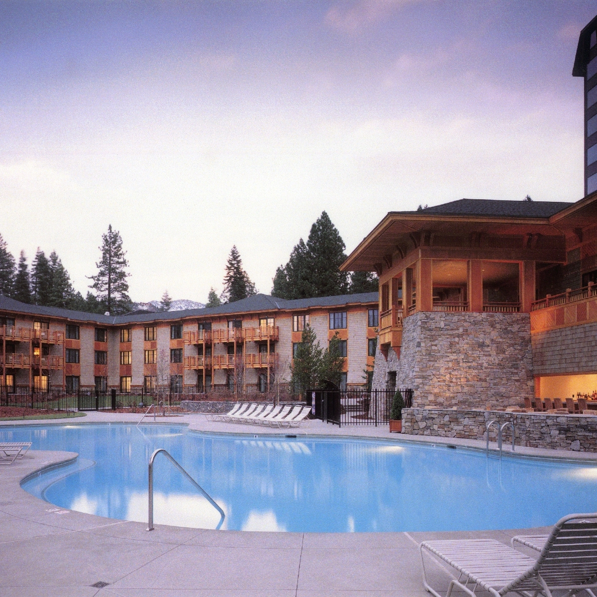 The Hyatt Regency Lake Tahoe Aspen Terrace and Spa -