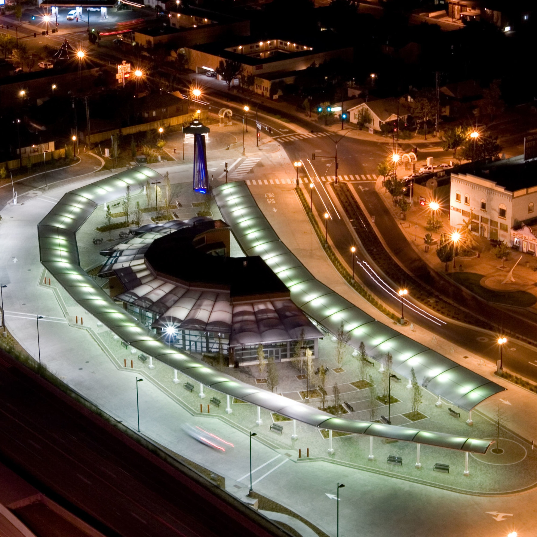 Regional Transportation Center (RTC) Centennial Plaza -