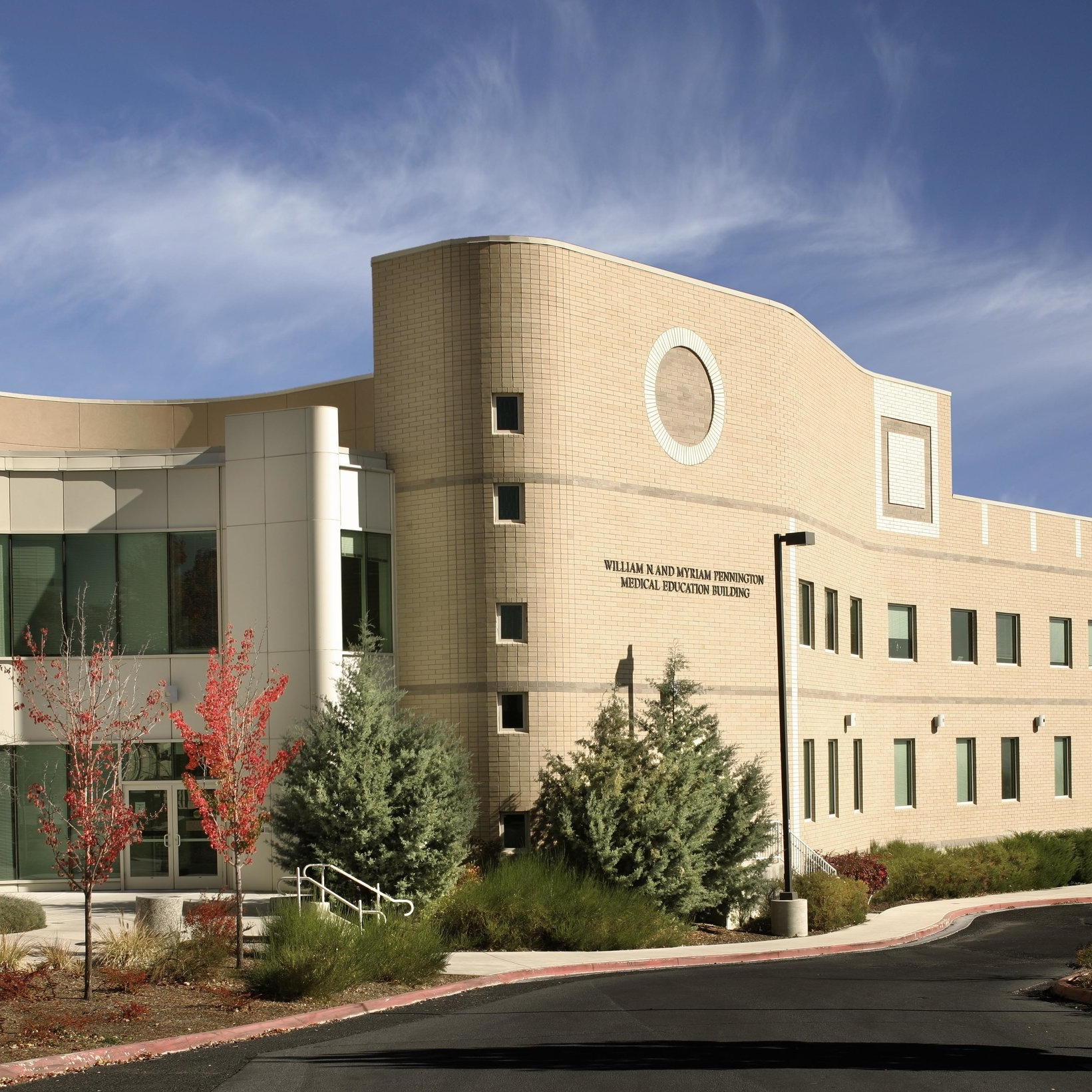 university of nevada reno (uNR) pennington medical education library and medical center -