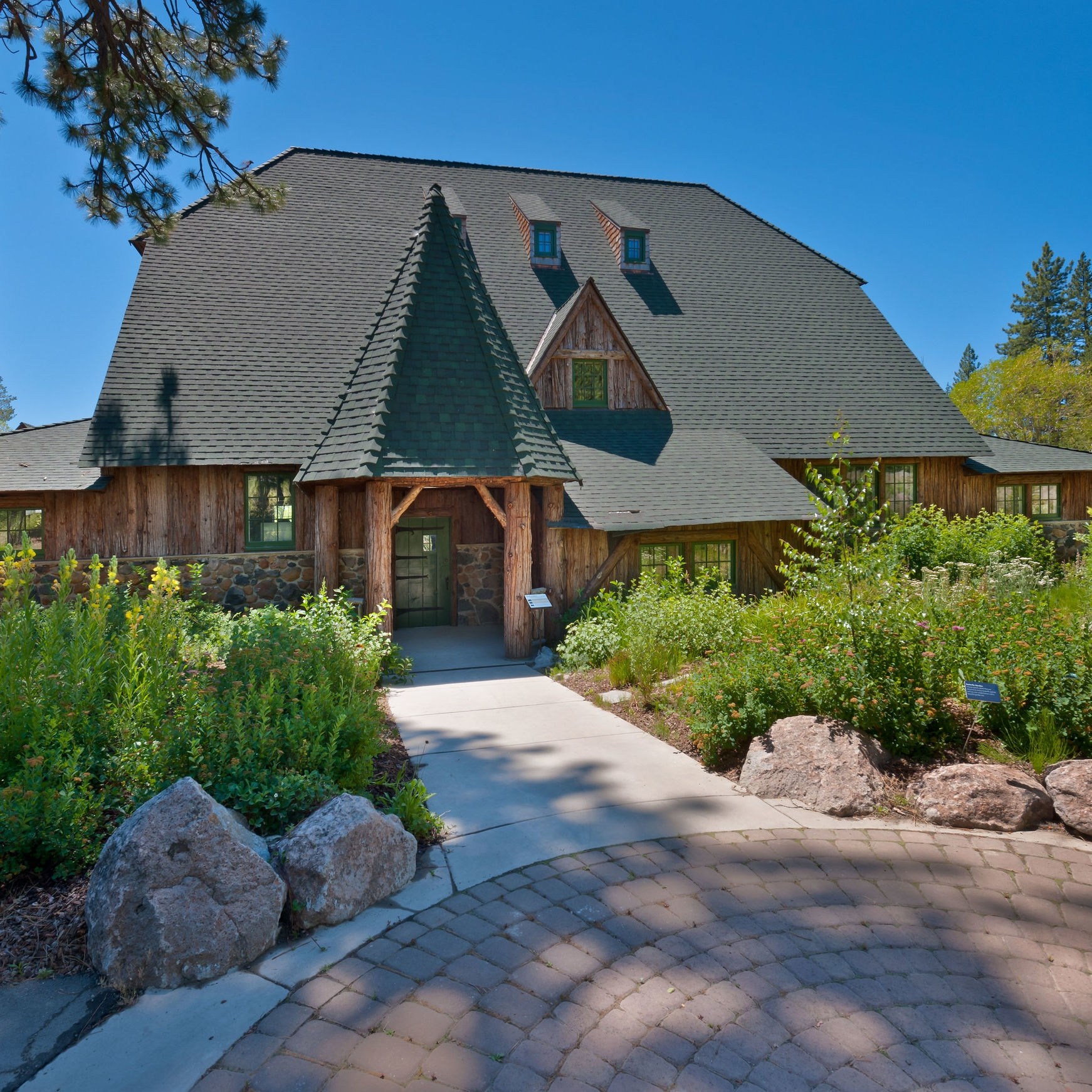 uC davis tahoe environmental research center (tahoe fish hatchery historic restoration) -