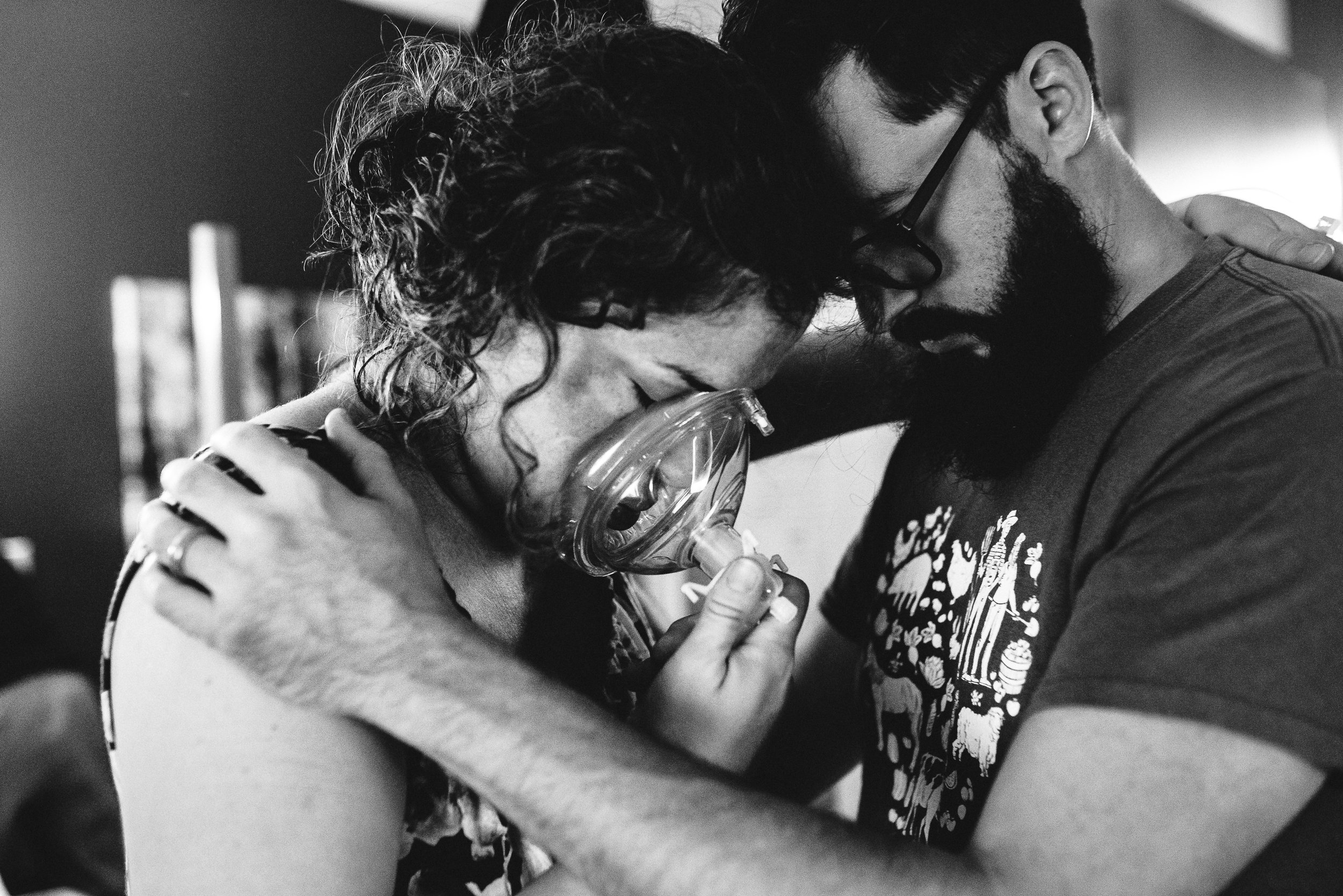 Intimate tender moments between this loving couple.