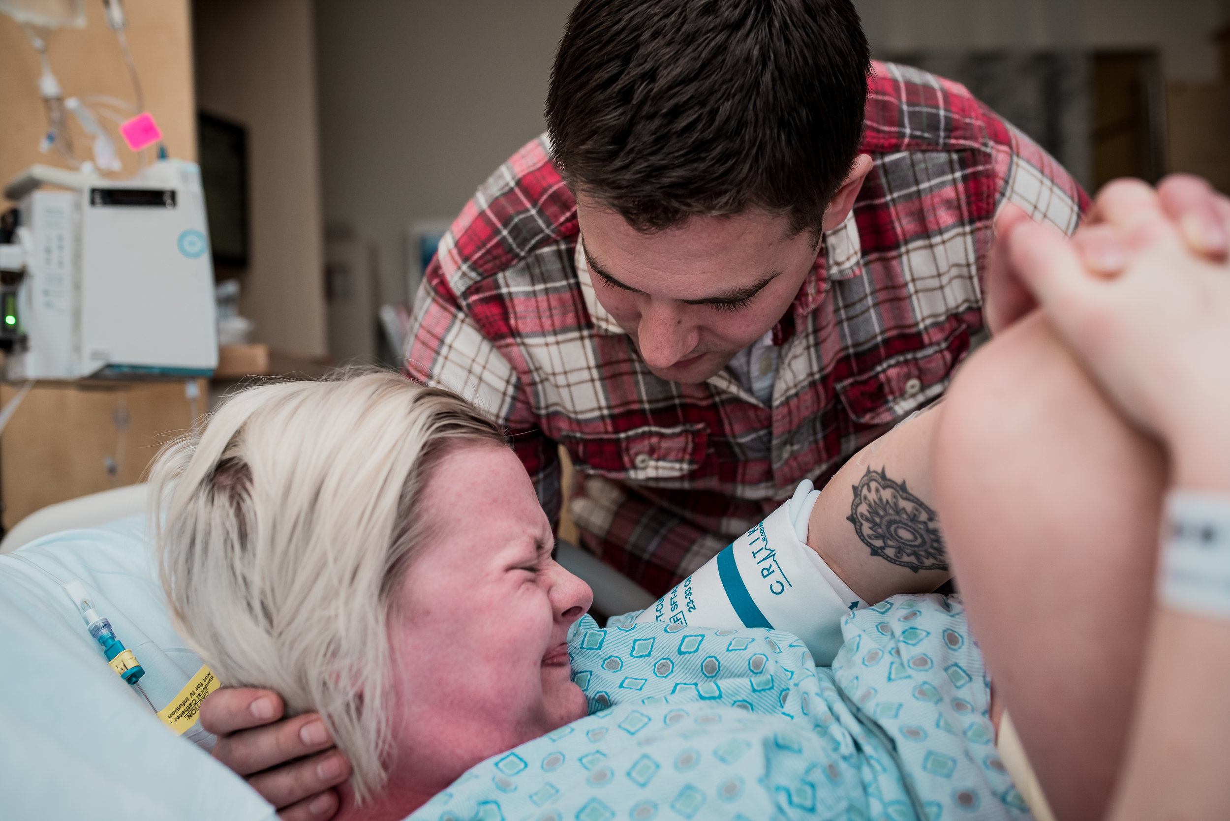 Pushing in labor