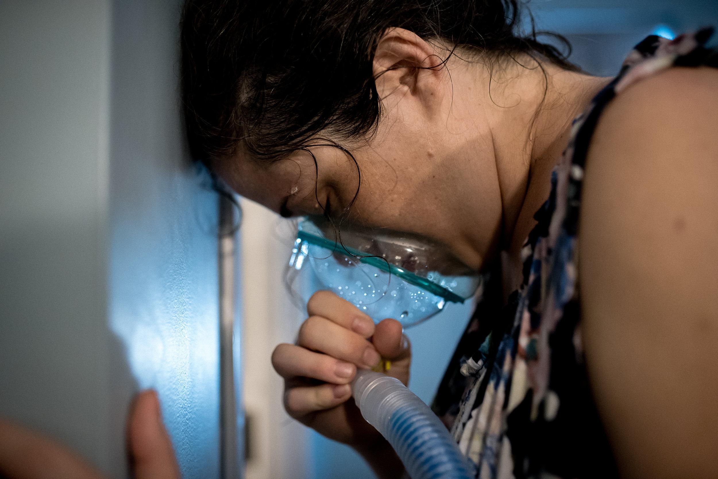 nitrous oxide in labor