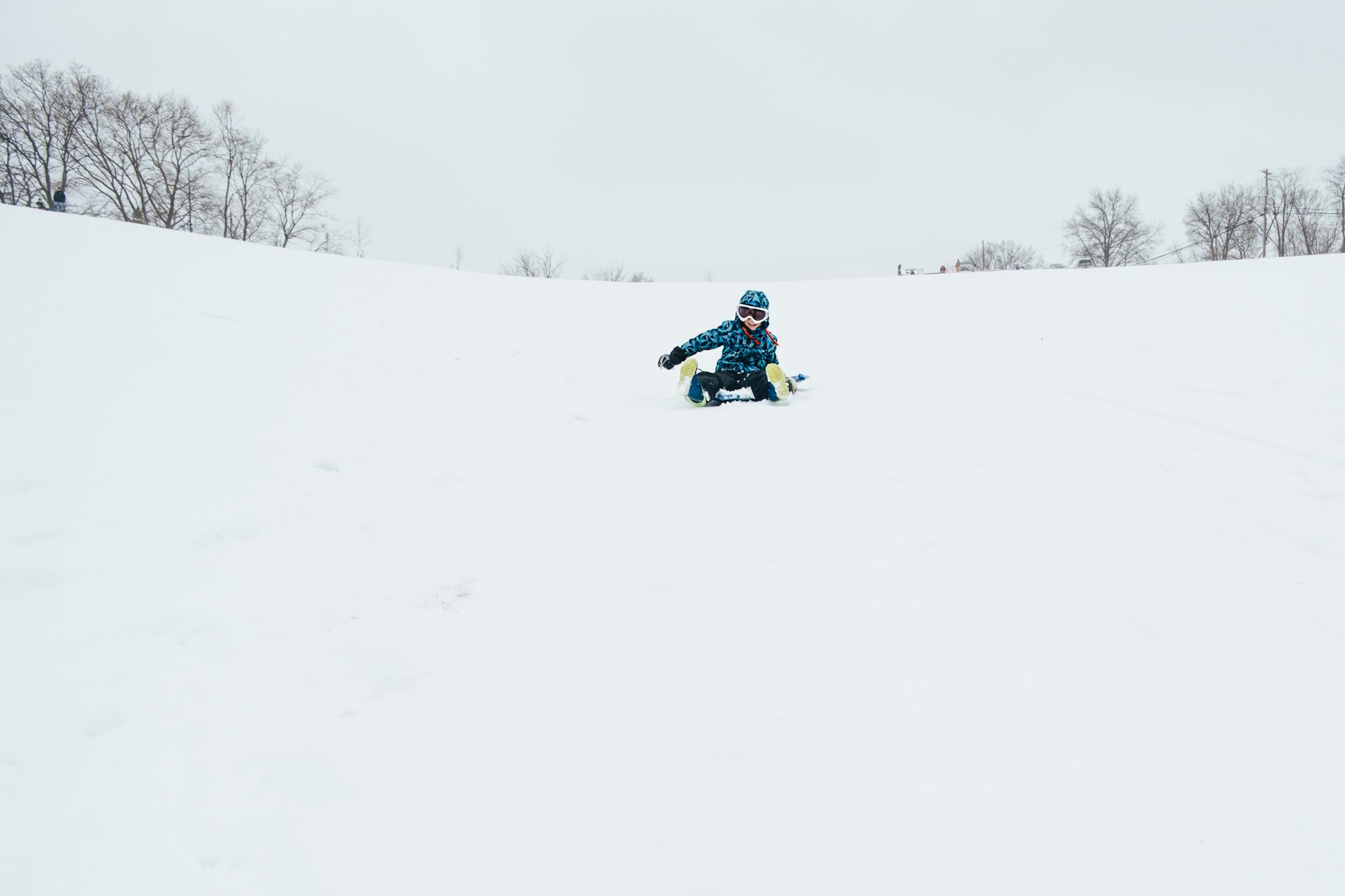 sledding at south park pittsburgh
