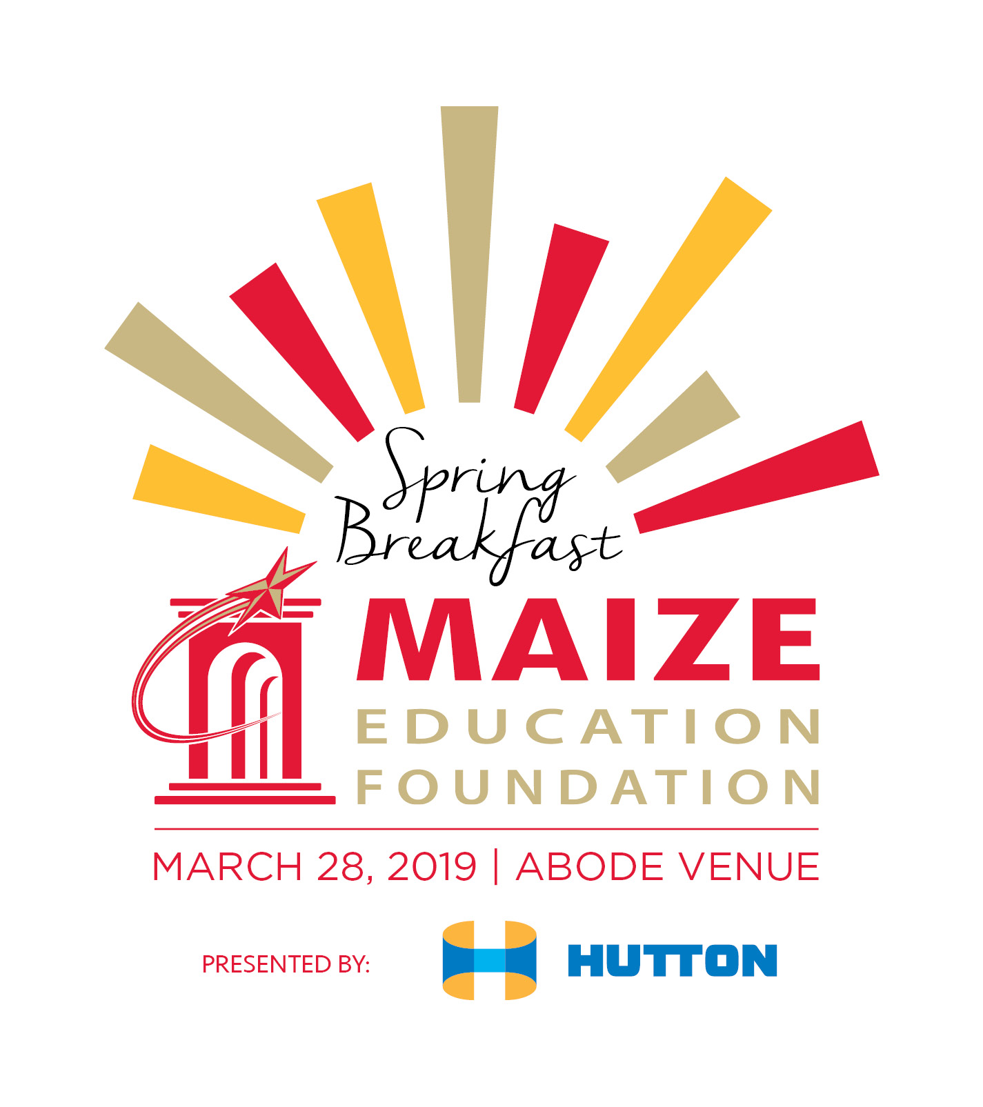 Our Inaugural Maize Education Foundation Spring Breakfast - Thanks to all of our sponsors, volunteers and guests, our inaugural Spring Breakfast raised more that $14,000 to support the educators and students of the Maize School District! We are so grateful to everyone who attended and contributed to the success of our first breakfast event - and we are already putting plans together for next year's event!By supporting our Spring Breakfast, you have invested in local public education and helped to strengthen the development of a local workforce that will enhance the Greater Wichita community for years to come!