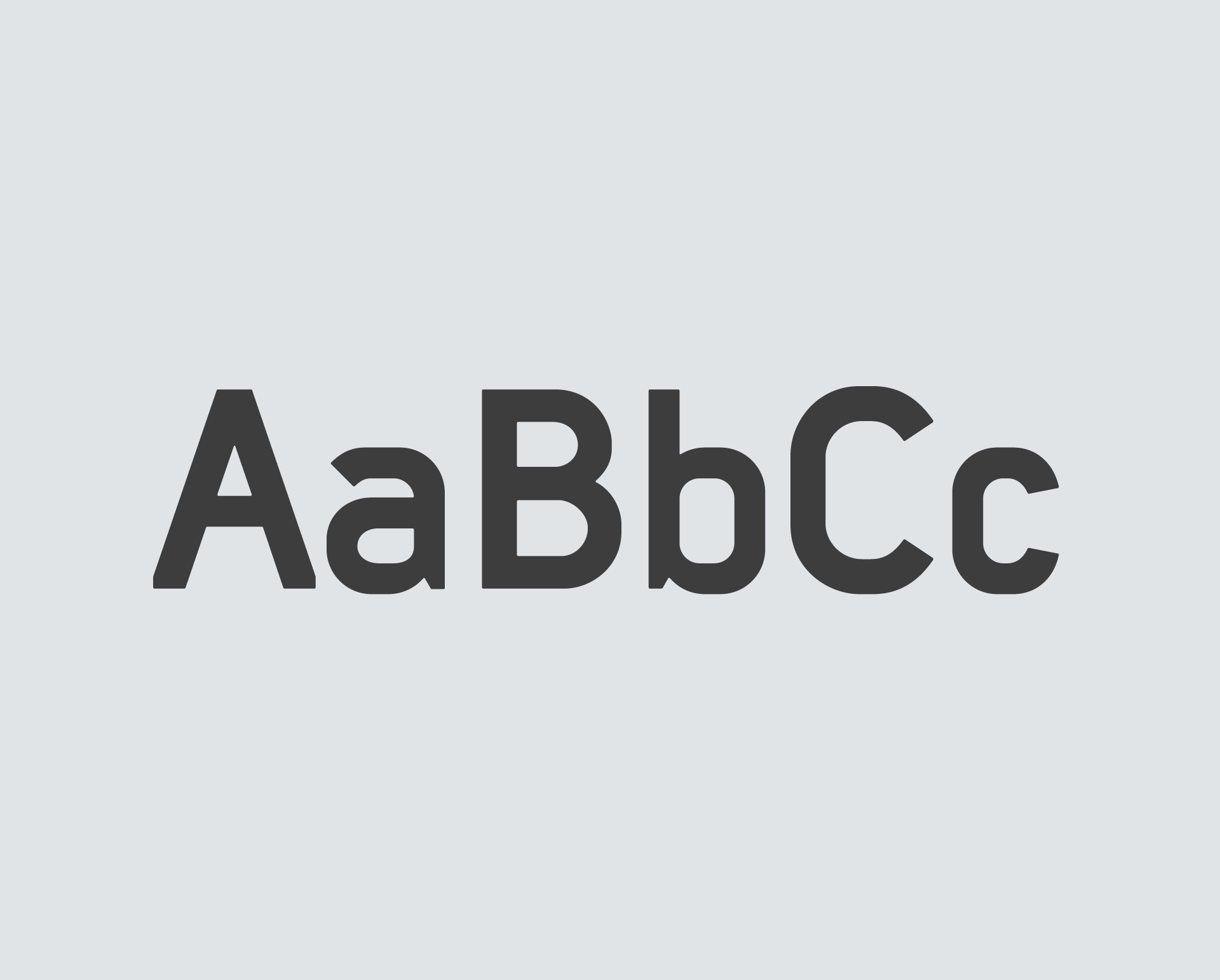 Typeface Design - During the early days of the company I created a font set out of necessity – the company couldn't afford font licenses for its online platform. Now it's the default font set used across pi-top product range.