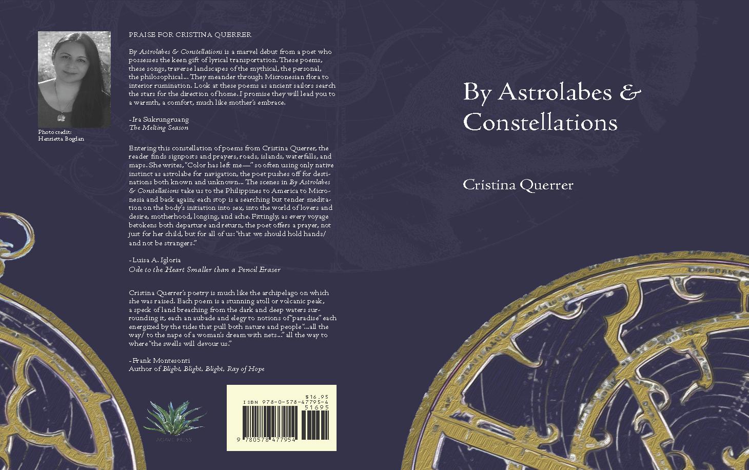 Book blurbs by  Frank Montesont i,  Luisa A. Igloria  and  Ira Sukrungraung