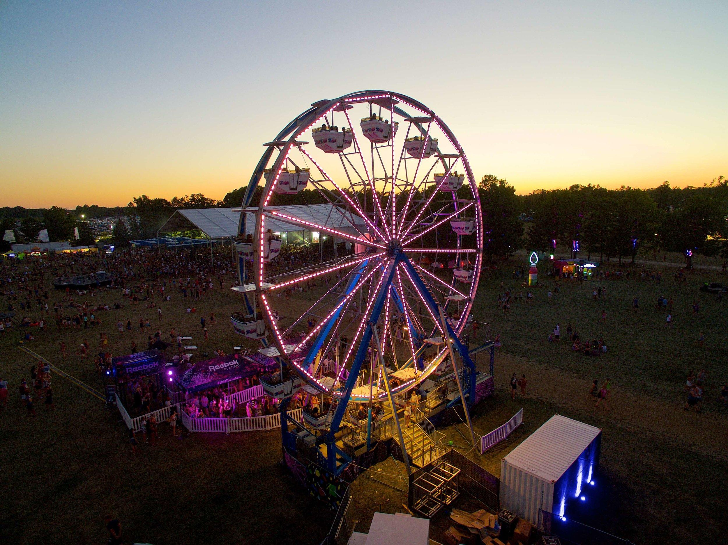 North Marketing Solutions - Wayhome Music Festival Ferris Wheel.jpg