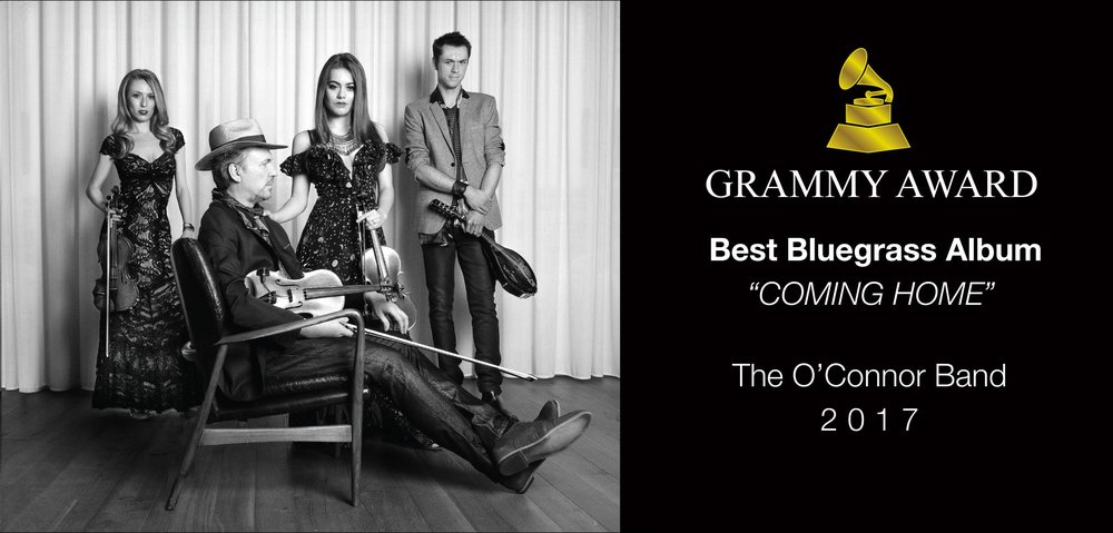 The GRAMMY Award-winning O'Connor Band, featuring iconic fiddler and composer Mark O'Connor, puts on an engaging, dynamic show showcasing compelling arrangements, virtuosic solos, and tight vocal harmonies. Their debut album, Coming Home, reached No. 1 on Billboard's Top Bluegrass Albums chart in 2016 and won Best Bluegrass Album at the 59th Annual GRAMMY Awards in 2017. In addition to Mark, the band features Maggie O'Connor (fiddle/vocals), Forrest O'Connor (mandolin/guitar/vocals), and Kate Lee (fiddle/vocals) as well as Joe Smart (guitar) and Geoff Saunders (bass/banjo).