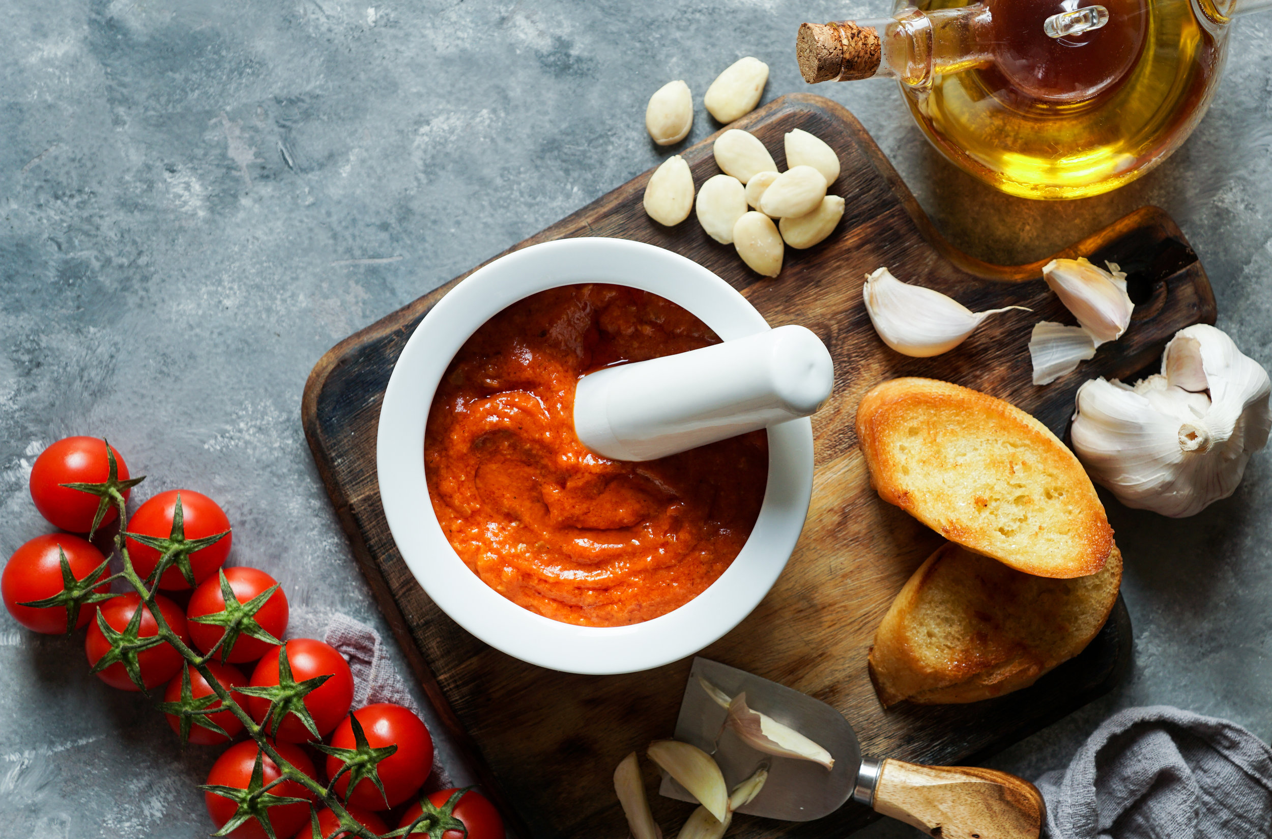 Romesco sauce holds a special summer allure.
