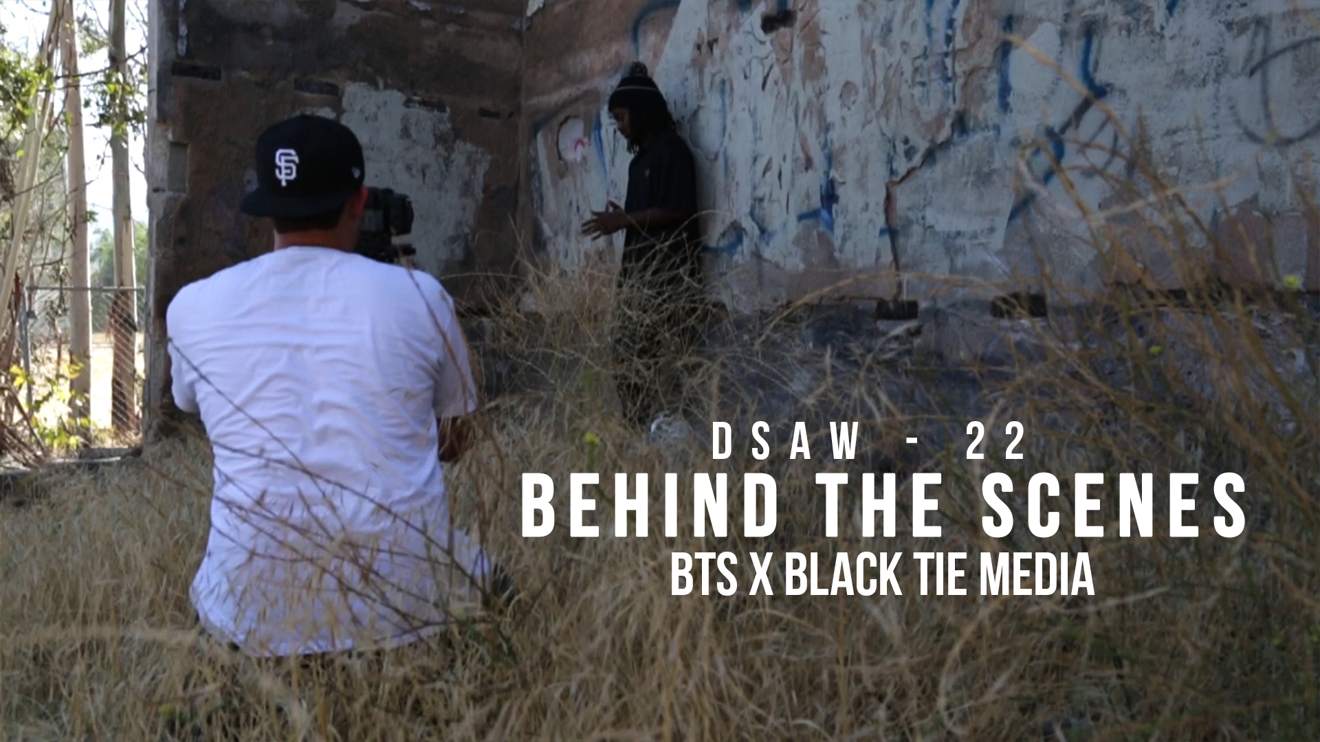 BTS of the DSAW-22 Music Video