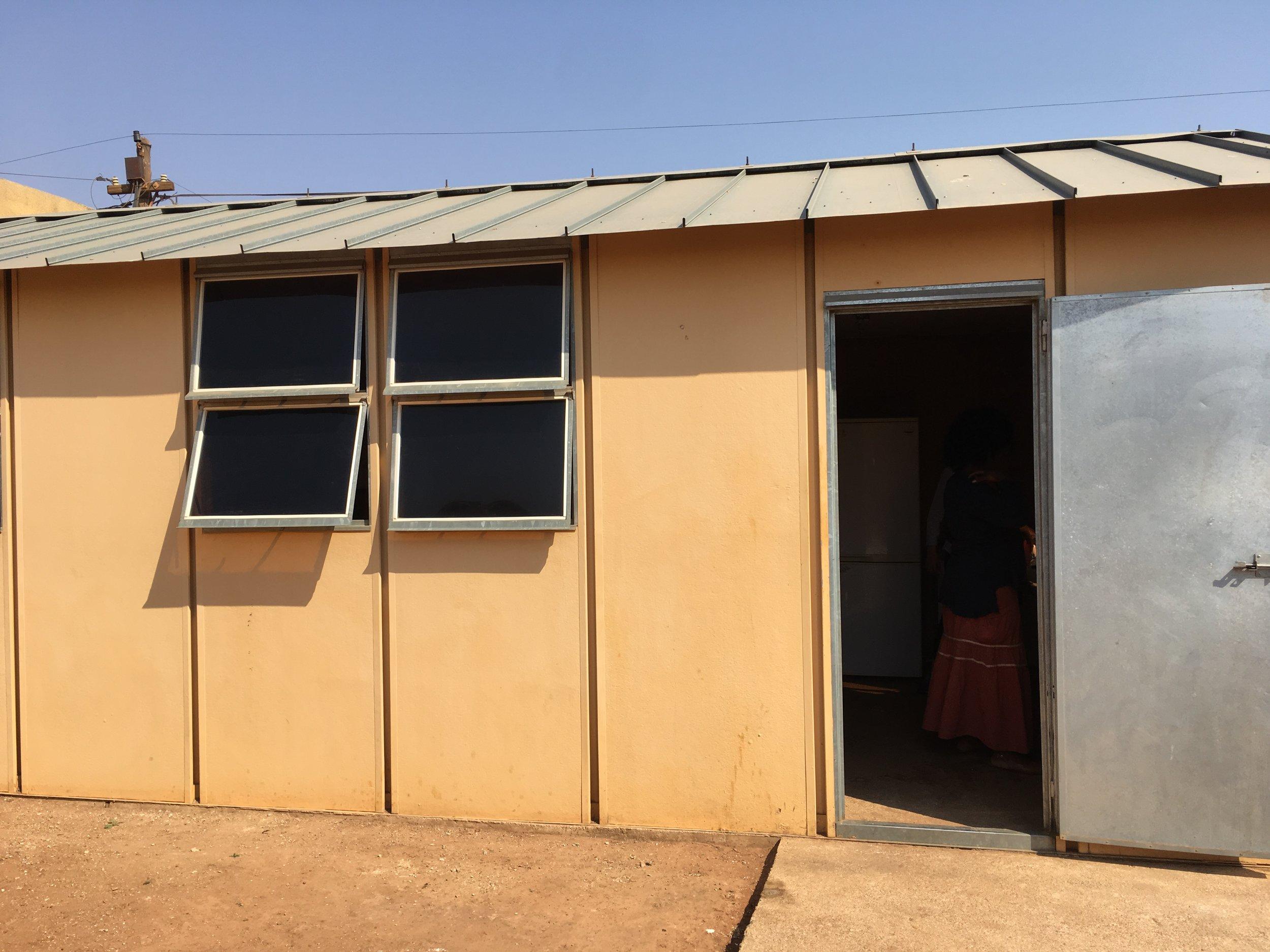 our first studio. Dobsinville, Soweto.