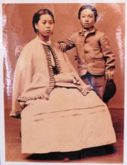Okei Ito 1852-1871  First Japanese woman to die in America.