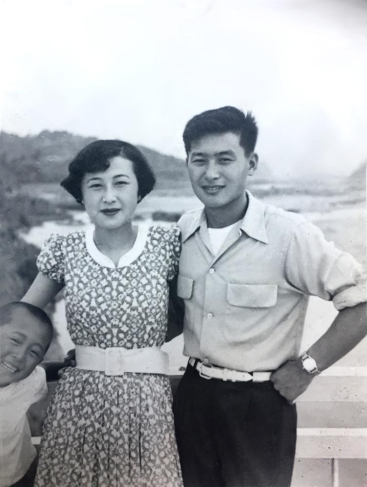 Fred and Yuriko, 1954