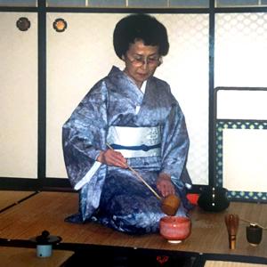 """Madame Yuriko Soyu Tanaka: """"Tea is my life."""" -"""