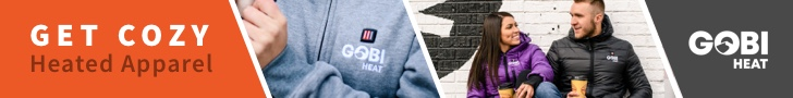 Stay warm with Gobi Heat clothing and accessories