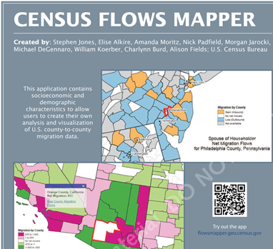 Charlynn Burd - PhD Geography (Committee Head, Ronald Kalafsky)Current Employment, US Census BureauResearch: Internal MigrationFunding: National Science Foundation