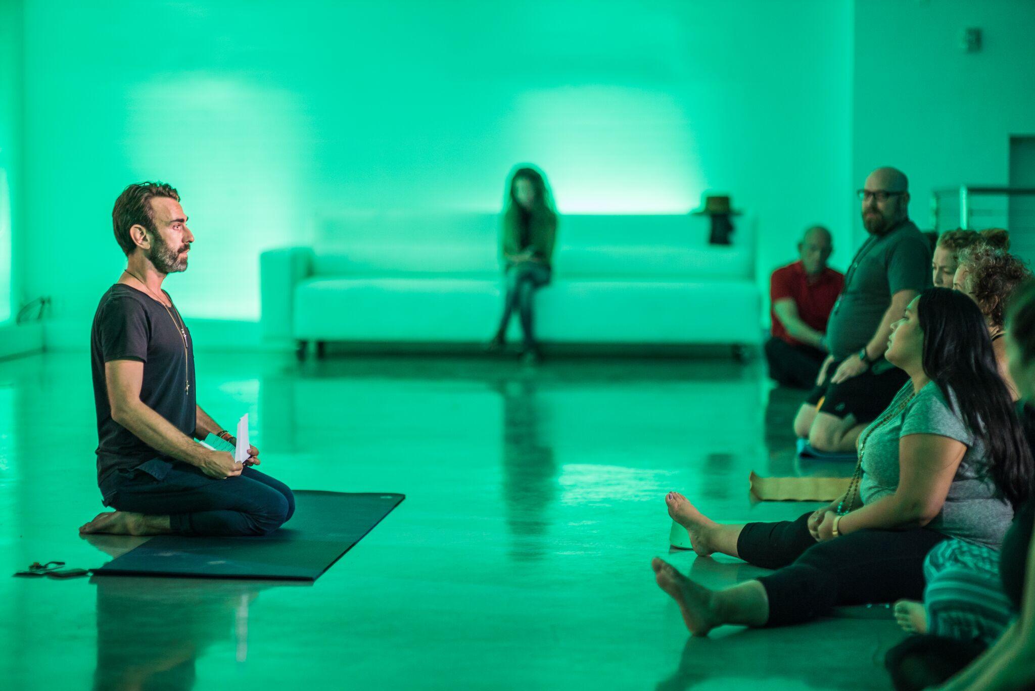 Osho Meditation at Temple House
