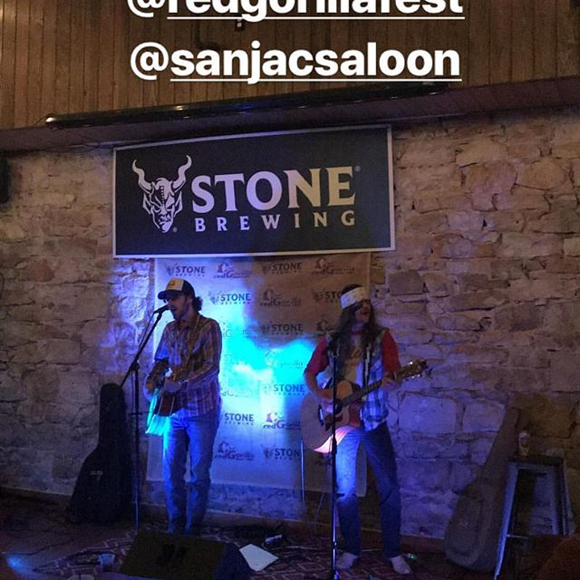 Red Gorilla festival, San Jac Saloon, Killin it tonight!! #texascountrymusic #southernrock #thatswhatithinktoo