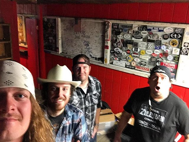 Just wrapped up sound check here @firehousesaloon_houston. See y'all at 9:30 #htx #livemusic #thatswhatithinktoo #bandontherun #surprisedave