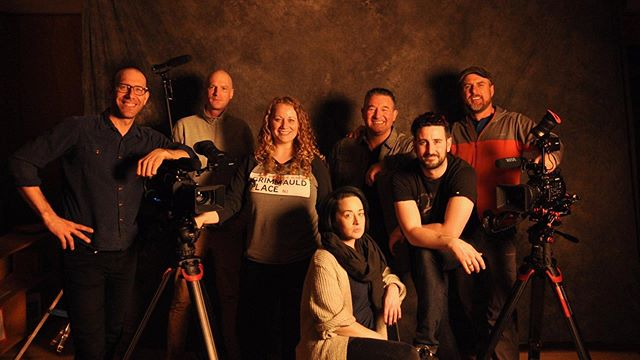 Ep. 05 of #spirittalker wrapped last week. #crewpic